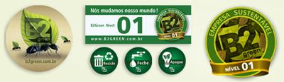 Entre em contato com B2green - Eu mudo meu Mundo!