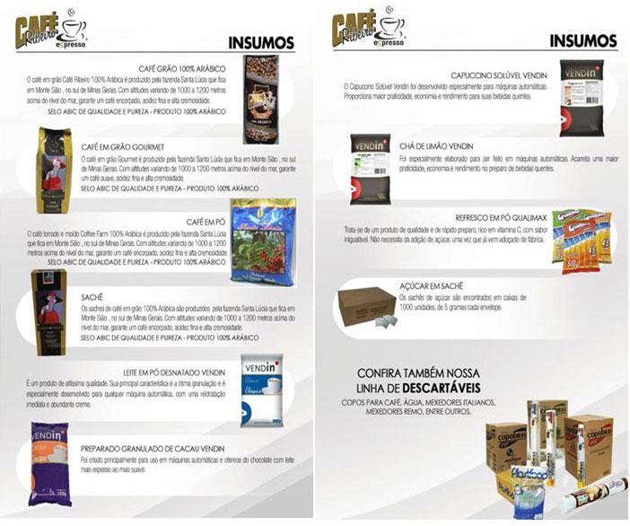 Entre em contato com Café Ribeiro Expresso