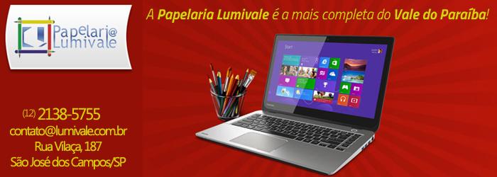Lumivale Papelaria - Materiais para Escritório, Escolares e Informática - São José dos Campos, SP