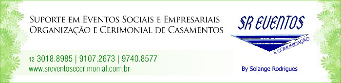 SR Eventos & Comunicação - Eventos Sociais e Empresariais - São José dos Campos, SP